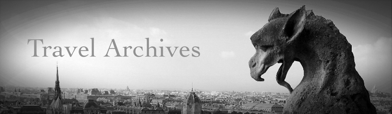 Travel Archives Banner